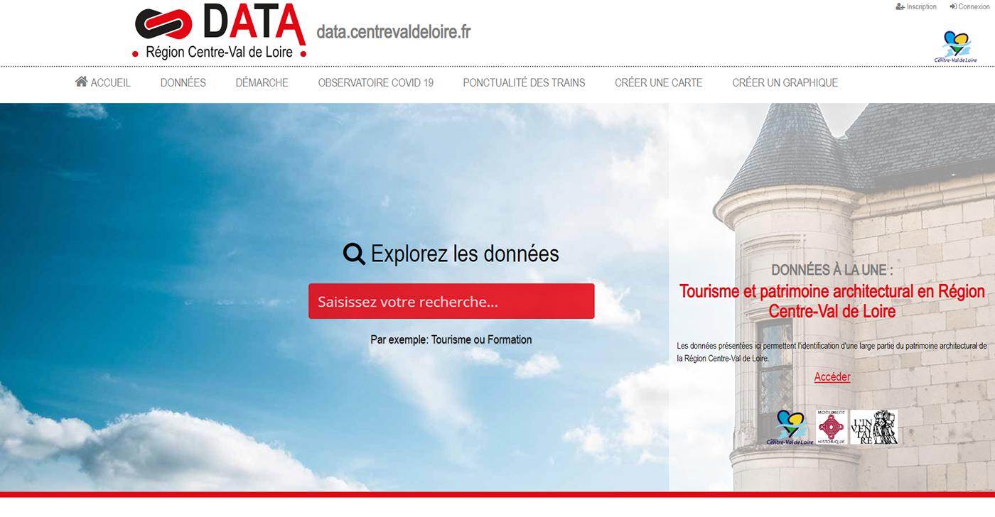 open data centre val de loire